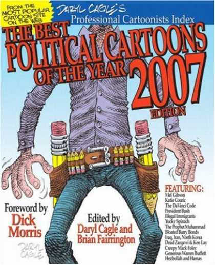 Bestselling Comics (2007) - The Best Political Cartoons of the Year 2007 Edition (The Best Political Cartoon