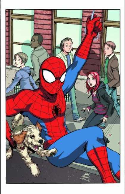 Bestselling Comics (2007) - Spider-Man Loves Mary Jane, Vol. 2: The New Girl by Sean McKeever - Spider-man - People - Dog - Redhead - Superhero