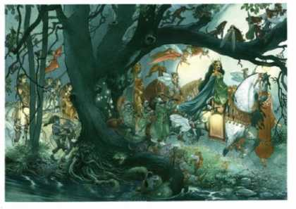 Bestselling Comics (2007) - Drawing Down the Moon: The Art of Charles Vess by Charles Vess