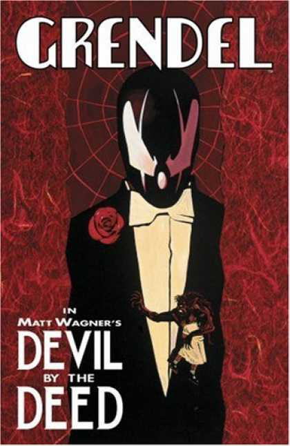Bestselling Comics (2007) - Grendel: Devil By The Deed (Grendel (Graphic Novels)) by Matt Wagner - Grendel - Devil By The Deed - Tux - Rose - Spiderweb