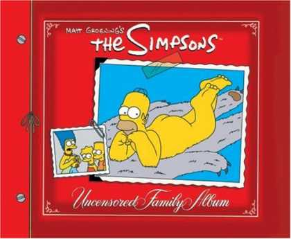 Bestselling Comics (2007) - The Simpsons Uncensored Family Album (Simpsons) by Matt Groening - Uncensored Family Album - Pictures - Homer - Bear Rug