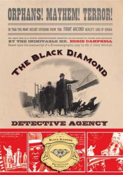 Bestselling Comics (2007) - The Black Diamond Detective Agency by Eddie Campbell