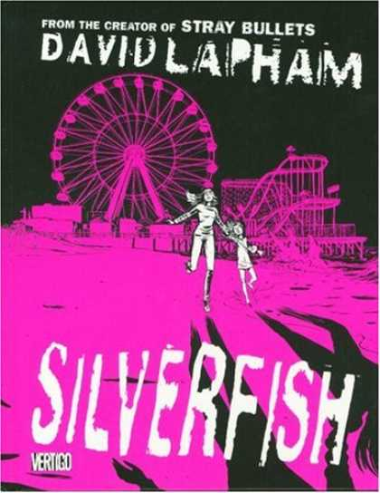 Bestselling Comics (2007) - Silverfish by Dave Lapham - Fair - Ferris Wheel - Running - Shadow - Carnival