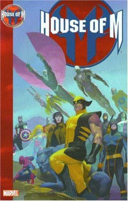 Bestselling Comics (2007) - House of M (X-Men, New Avengers) by Brian Michael Bendis