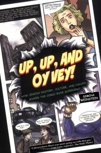 Bestselling Comics (2007) - Up, Up, and Oy Vey!: How Jewish History, Culture, and Values Shaped the Comic Bo
