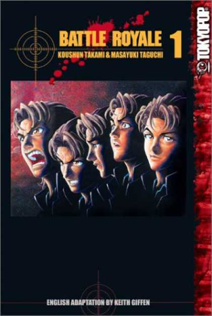 Bestselling Comics (2007) - Battle Royale, Book 1 by Koushun Takami - Tokyopop - Battle Royale - Crosshairs - Bloodstain - English Adaptation