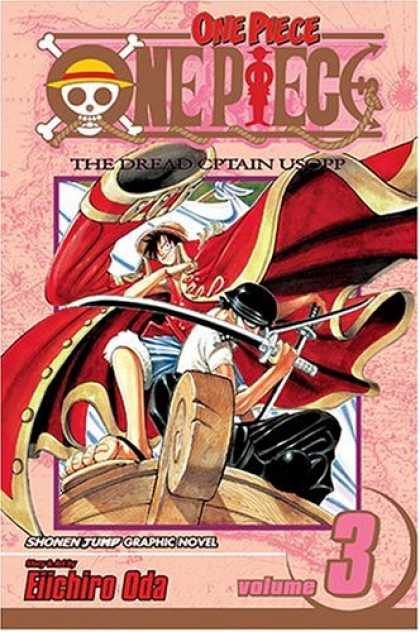 Bestselling Comics (2007) - One Piece, Volume 3: Don't Get Fooled Again - Captain - Volume 3 - Cartoon - Graphic Novel - Ship