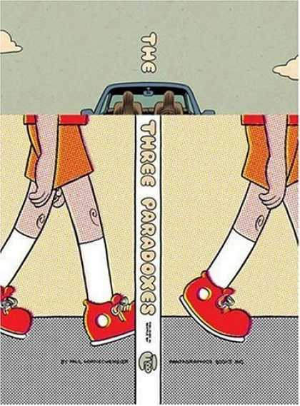 Bestselling Comics (2007) - The Three Paradoxes by Paul Hornschemeier - Car - The Three Paradoxes - Shoe - Trousers - Sky