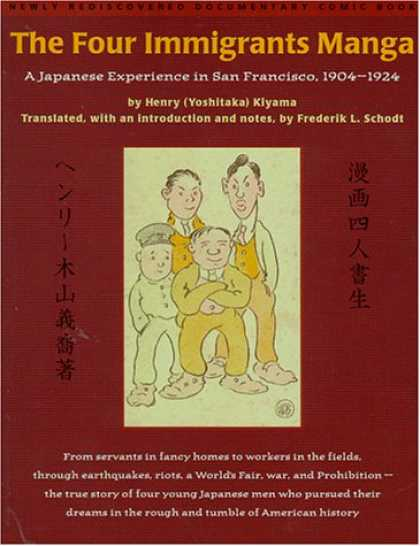 Bestselling Comics (2007) - The Four Immigrants Manga : A Japanese Experience in San Francisco, 1904-1924 by