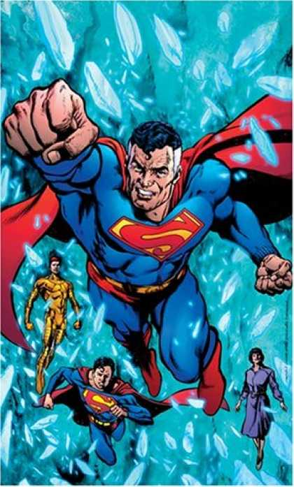 Bestselling Comics (2007) - Superman: Infinite Crisis by Joe Kelly - Ice - Superman - Costume - Hero - Woman