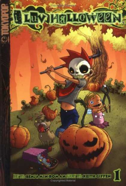 Bestselling Comics (2007) - I Luv Halloween, Volume 1 by Ben Roman - Tree - Tokyopop - Fruits - Keith Giffen - Benjamin Roman