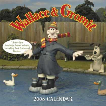 Bestselling Comics (2007) - 2008 Wall Calendar: Wallace & Gromit by licensor) Aardman Animations