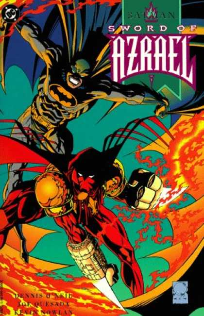 Bestselling Comics (2007) - Batman: Sword of Azrael (Batman (DC Comics Paperback)) by Dennis O'Neil
