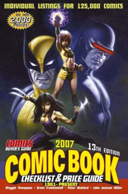 Bestselling Comics (2007) - Comic Book Checklist & Price Guide 2007: 1961 to Present (Comic Book Checklist a - Individual Listings - Comic Book - Checklist And Price Guide - Claws - Superheroes