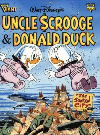 Bestselling Comics (2007) - Walt Disney's Uncle Scrooge & Donald Duck: The Sunken City (Gladstone Giant Comi