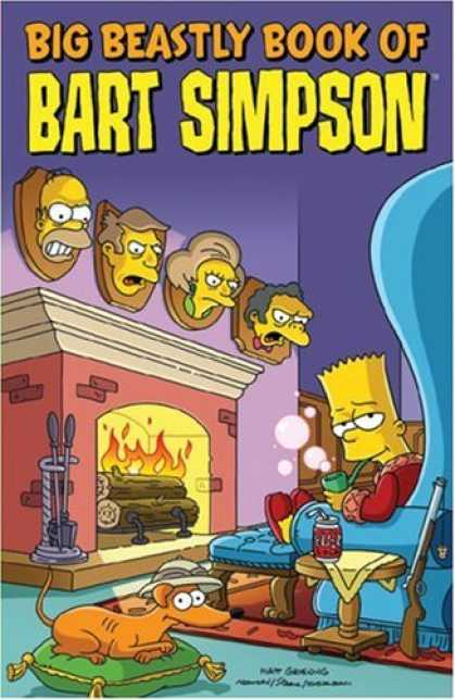 Bestselling Comics (2007) - Big Beastly Book of Bart Simpson (Simpsons) by Matt Groening