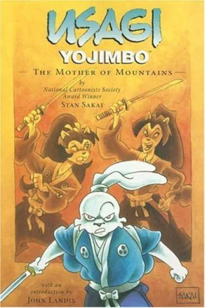 Bestselling Comics (2007) - Usagi Yojimbo Volume 21: The Mother of Mountains (Usagi Yojimbo) by Stan Sakai