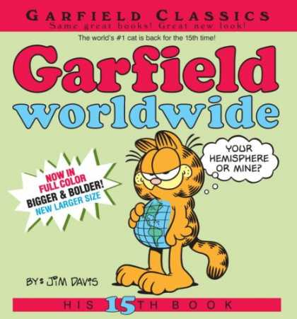 Bestselling Comics (2007) - Garfield Worldwide: His 15th Book (Garfield (Numbered Paperback)) by Jim Davis