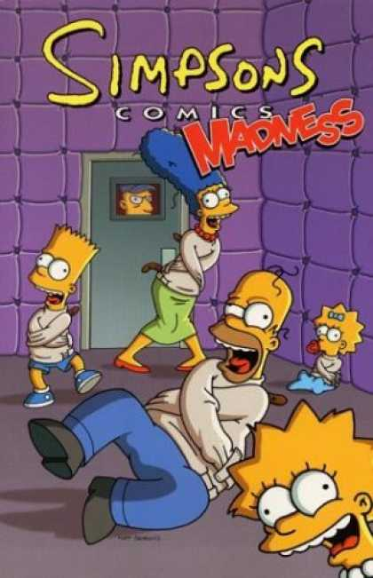 Bestselling Comics (2007) - Simpsons Comics Madness by Matt Groening
