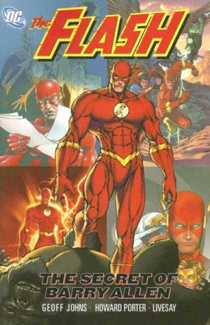 Bestselling Comics (2007) - The Flash Vol. 6: The Secret of Barry Allen by Geoff Johns - Barry Allen - Livesay - Secret - Howard Porter - Geoff Johns