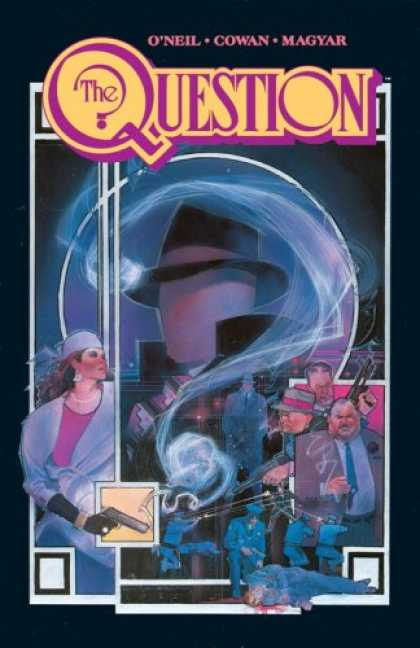 Bestselling Comics (2007) - The Question, Vol. 1: Zen and Violence by Dennis O'Neil - Oneil - Cowan - Magyar - Guns - Woman