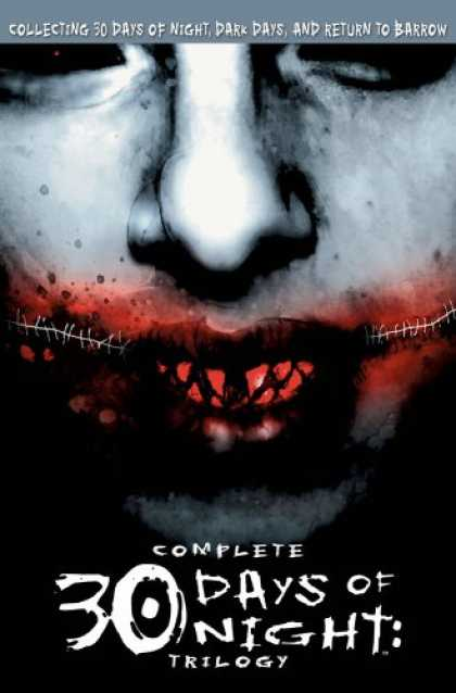 Bestselling Comics (2007) - Complete 30 Days Of Night Trilogy by Steve Niles - Collecting 30 Days Of Night - Dark Days - Return To Barrow - Trilogy - Face