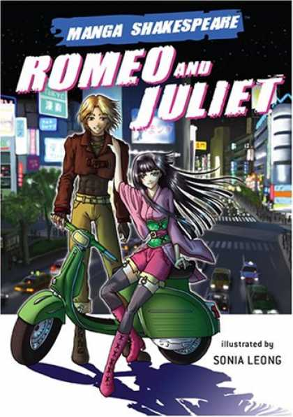 Bestselling Comics (2007) - Manga Shakespeare: Romeo and Juliet (Manga Shakespeare) by William Shakespeare - Manga Shakespeare - Romeo And Juliet - Man - Woman - Scooter