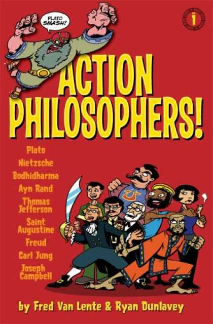 Bestselling Comics (2007) - Action Philosophers Giant-Size Thing Vol. 1 (Action Philosophers!) by Fred Van L