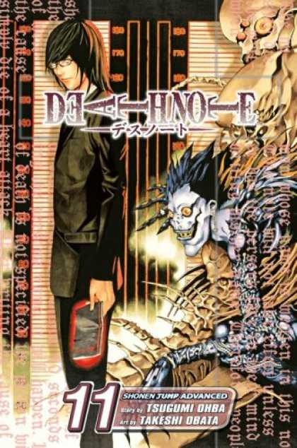 Bestselling Comics (2007) - Death Note, Volume 11 by Tsugumi Ohba - Death Note - Anime - Manga - Tsugumi Ohba - Takeshi Obata