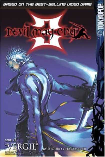 Bestselling Comics (2007) - Devil May Cry 3 Volume 2 (Devil May Cry) by Suguro Chayamachi - Vergil - Suguro Chayamachi - Sword - Cape - White Hair