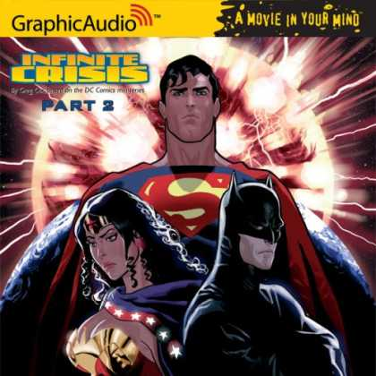 Bestselling Comics (2007) - Infinite Crisis - Part 2 (Audiobook) by Greg Cox