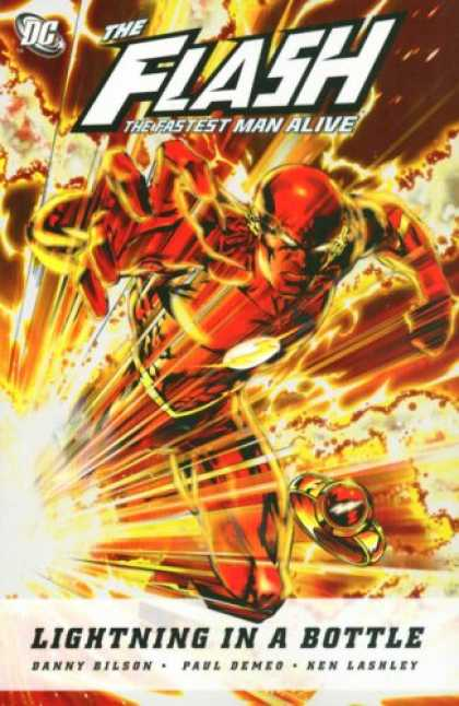 Bestselling Comics (2007) - Flash, Book 1: The Fastest Man Alive - Lightning in a Bottle by Danny Bilson