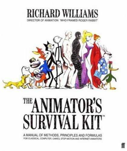 Bestselling Comics (2007) - The Animator's Survival Kit: A Manual of Methods, Principles, and Formulas for C - Richard Williams - The Animators Survival Kit - Classical Computer Games Stop Action And Internet Animation Comic Guide - Learn To Animate In This Comic Book - Manual Of Methods Principles And Formulas