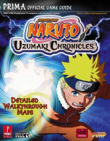 Bestselling Comics (2007) - Naruto: Uzumaki Chronicles (Prima Official Game Guide) by Prima Games