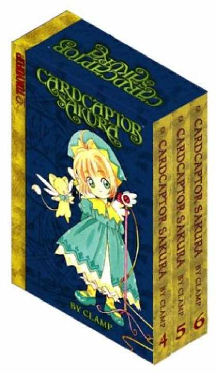 Bestselling Comics (2007) - Cardcaptor Sakura: Boxed Set Volumes 4-6: Special Collector's Edition by Clamp