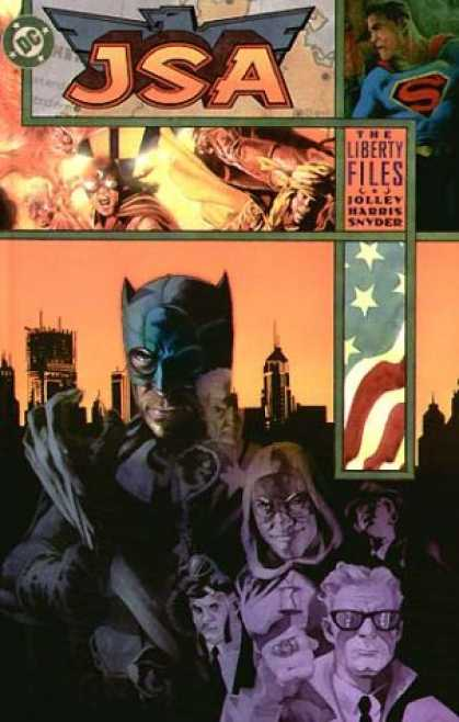 Bestselling Comics (2007) - JSA: The Liberty Files (Justice Society, Elseworlds) by Dan Jolley