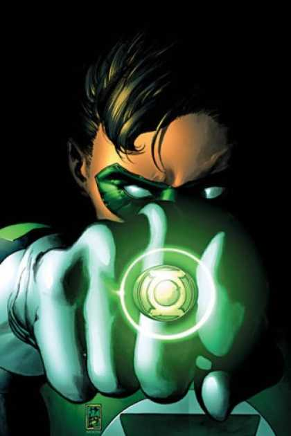 Bestselling Comics (2007) - Green Lantern Vol. 2: Revenge of the Green Lanterns by Geoff Johns - Ring - Black Hair - Green Mask - White Eyes - Gloves
