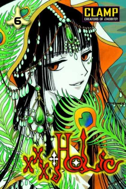 Bestselling Comics (2007) - xxxHOLiC, Volume 6 by Clamp - Jewels - Hood - Xxx Holic - Brown Eyes - 6