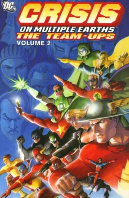 Bestselling Comics (2007) - Crisis on Multiple Earths: The Team-Ups, Vol. 2 by Gardner Fox - The Team Ups - Volume 2 - Multiple Earths - Captain America - Flash