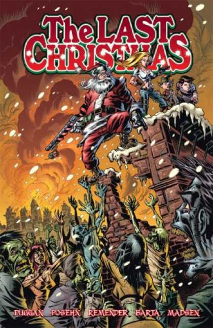 Bestselling Comics (2007) - The Last Christmas by Brian Posehn - Christmas - The Last Christmas - War - Snow - Santa