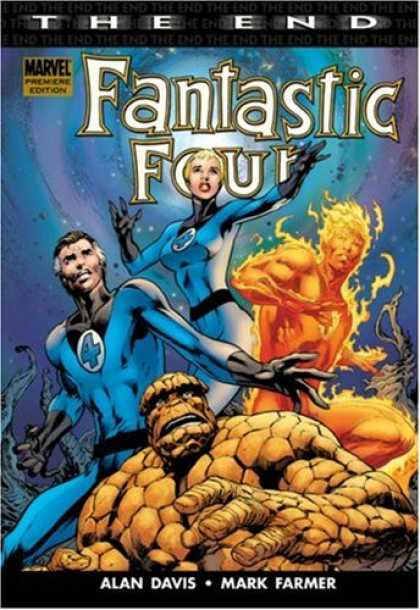 Bestselling Comics (2007) - Fantastic Four: The End by Alan Davis - Mark Farmer - Alan Davis - Fantastic Four - Marvel - The End