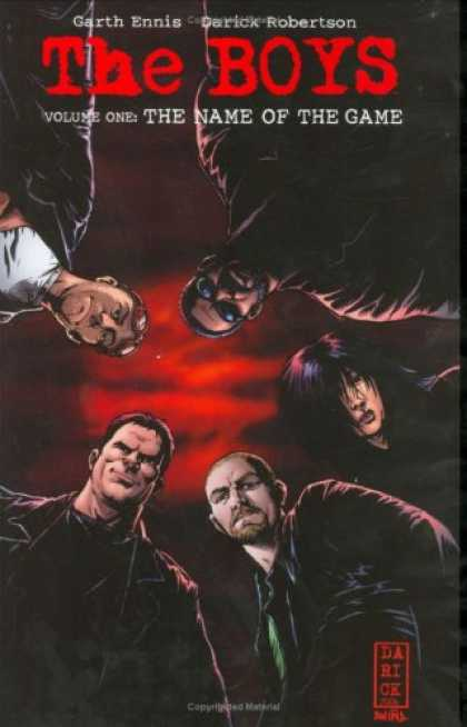 Bestselling Comics (2007) - The Boys Vol. I by Garth Ennis - Garth Ennis - Darick Robertson - Vol 1 - Wild Storm - Preacher
