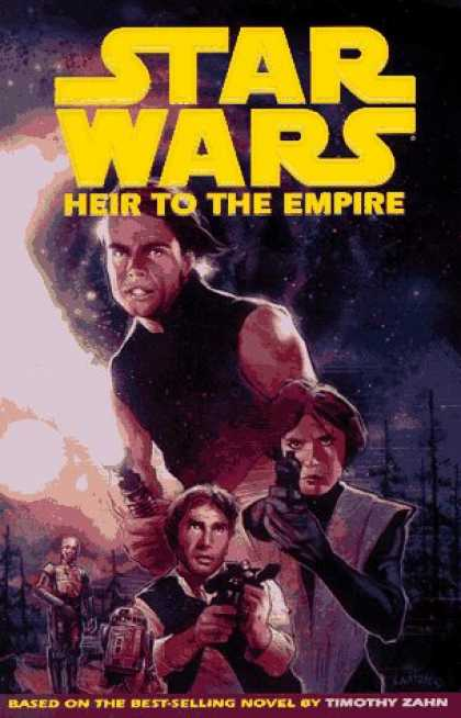 Bestselling Comics (2007) - Star Wars: Heir to the Empire (Dark Horse Collection.) by Mike Baron - Star Wars - Heir To The Empire - Man - Robot - Laser