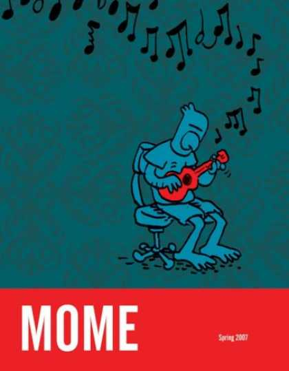 Bestselling Comics (2007) - MOME Spring 2007 (Vol. 7) (Mome) by Gary Groth - Bird - Music - Guitar - Chair - Notes
