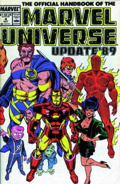 Bestselling Comics (2007) - Essential Official Handbook of the Marvel Universe - Update 89, Vol. 1 (Marvel E