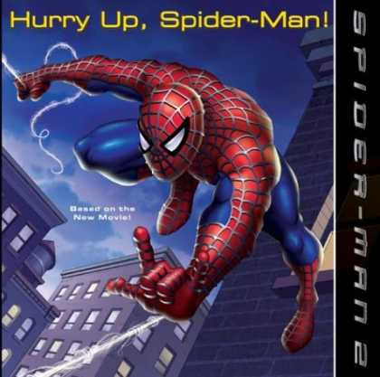 Bestselling Comics (2007) - Spider-Man 2: Hurry Up, Spider-Man! (Spider-Man) by Kate Egan - Spiderman - Hurry Up - New Movie - Buildings - Flying