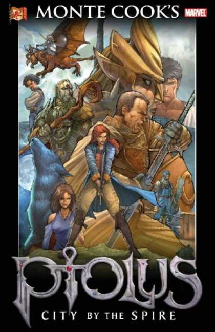 Bestselling Comics (2007) - Monte Cook's Ptolus: City By The Spire TPB by Monte Cook - Monte Cooks - Marvel Comics - Marvel - Piolus - Spire