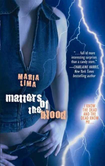 Bestselling Comics (2007) - Matters Of The Blood by Maria Lima - Graphic Novel - Matters Of The Blood - Dead - Ghosts - Lightening