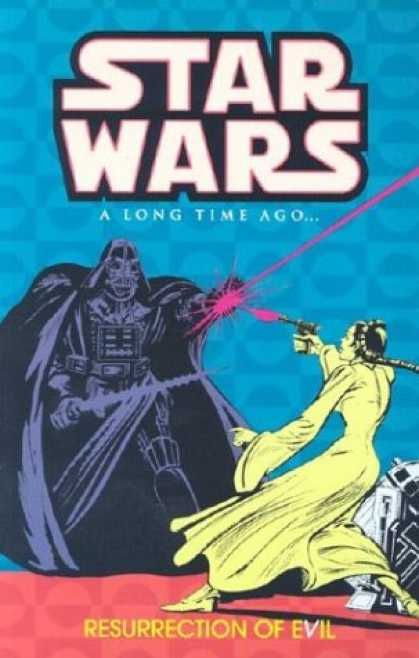 Bestselling Comics (2007) - Star Wars: A Long Time Ago..., Book 3: Resurrection of Evil by Various - Star Wars - Ray Gun - Dearth Vader - Light Sabor - Lela