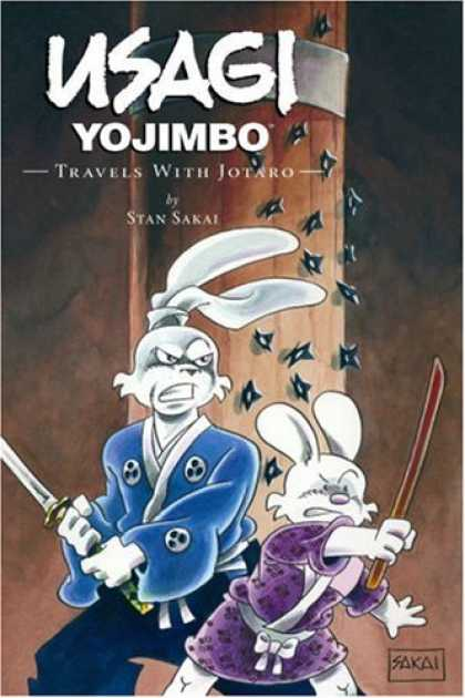 Bestselling Comics (2007) - Usagi Yojimbo Volume 18: Travels with Jotaro (Usagi Yojimbo) by Stan Sakai - Yojimbo - Travels With Jotaro - Stan Sakai - Rabbits - Samurai